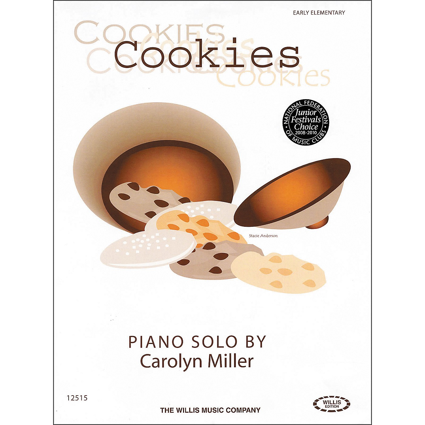 Willis Music Cookies Early Elementary Piano Solo by Carolyn Miller thumbnail