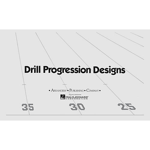 Arrangers Cool Blue (Drill Design 96) Marching Band thumbnail