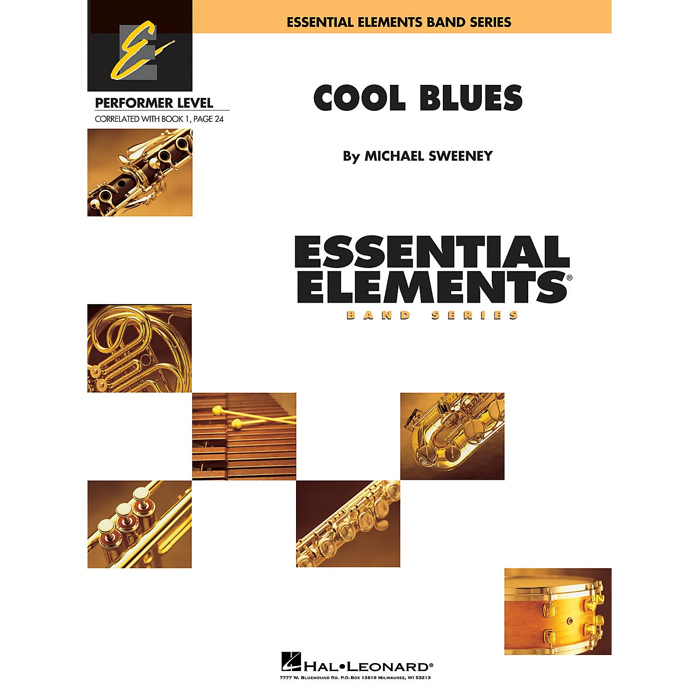 Hal Leonard Cool Blues Concert Band Level .5 to 1 Composed by Michael Sweeney thumbnail