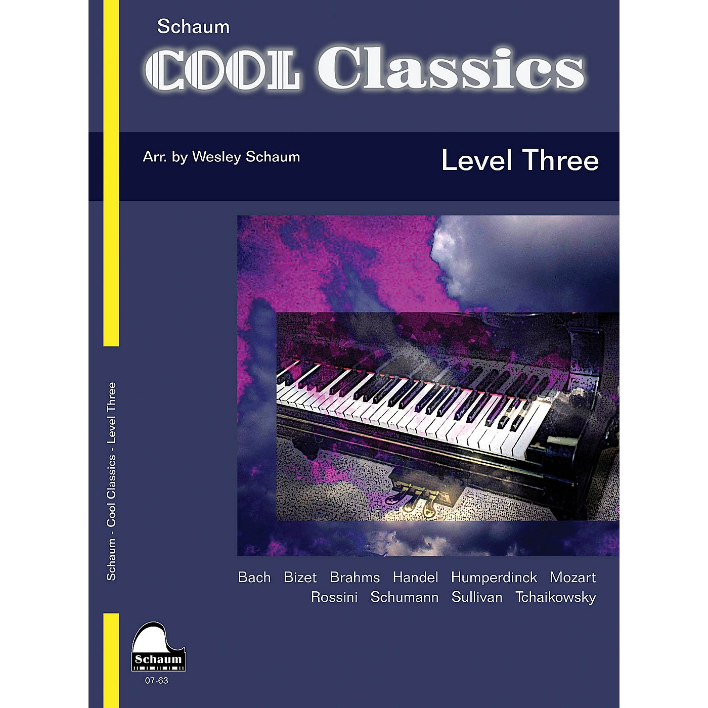 SCHAUM Cool Classics, Lev 3 Educational Piano Series Softcover thumbnail