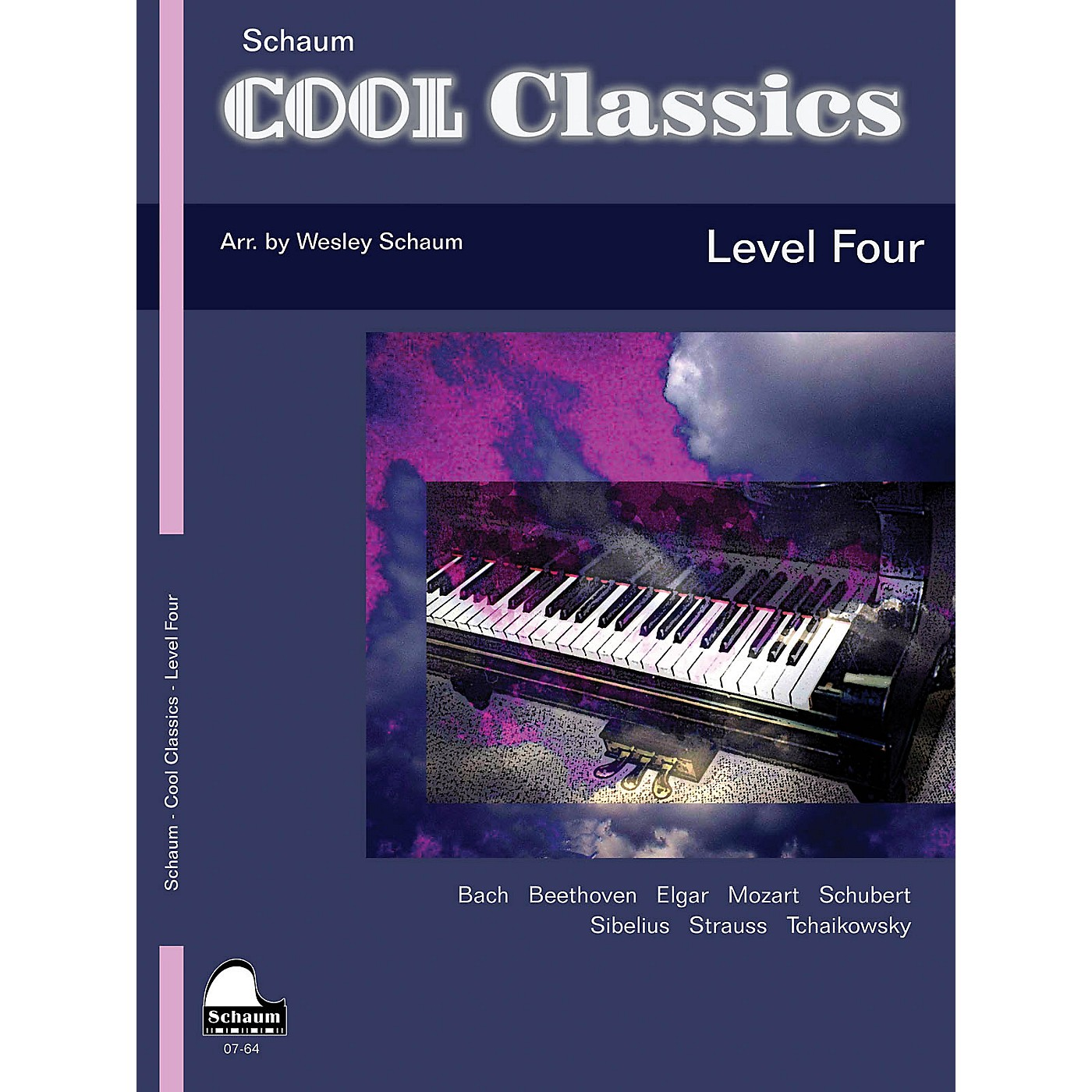 SCHAUM Cool Classics, Lev 4 Educational Piano Series Softcover thumbnail
