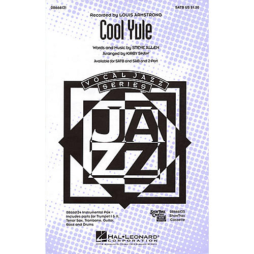 Hal Leonard Cool Yule Combo Parts by Louis Armstrong Arranged by Kirby Shaw thumbnail