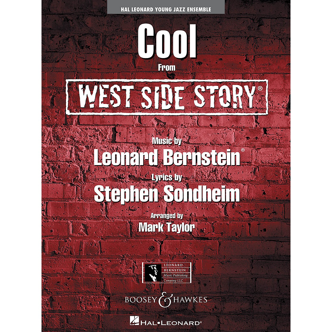 Hal Leonard Cool (from West Side Story) Jazz Band Level 3 Arranged by Mark Taylor thumbnail