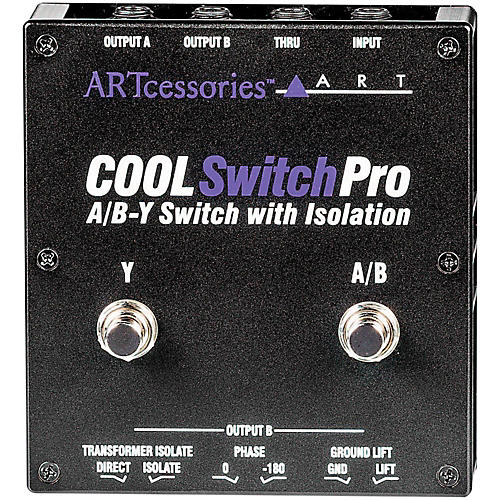 ART CoolSwitch Pro A/B-Y Switch with Isolation thumbnail