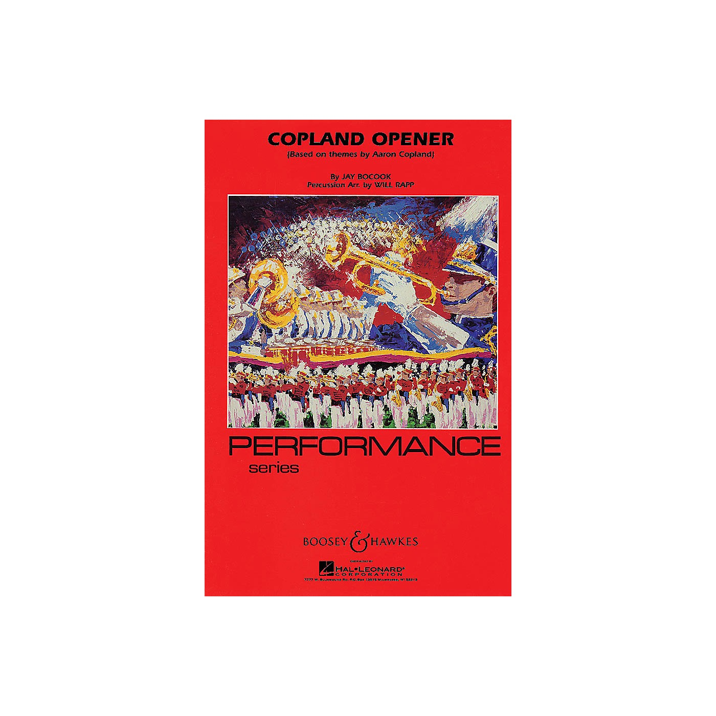 Hal Leonard Copland Opener - Full Score Concert Band Composed by Jay Bocook Arranged by Will Rapp thumbnail