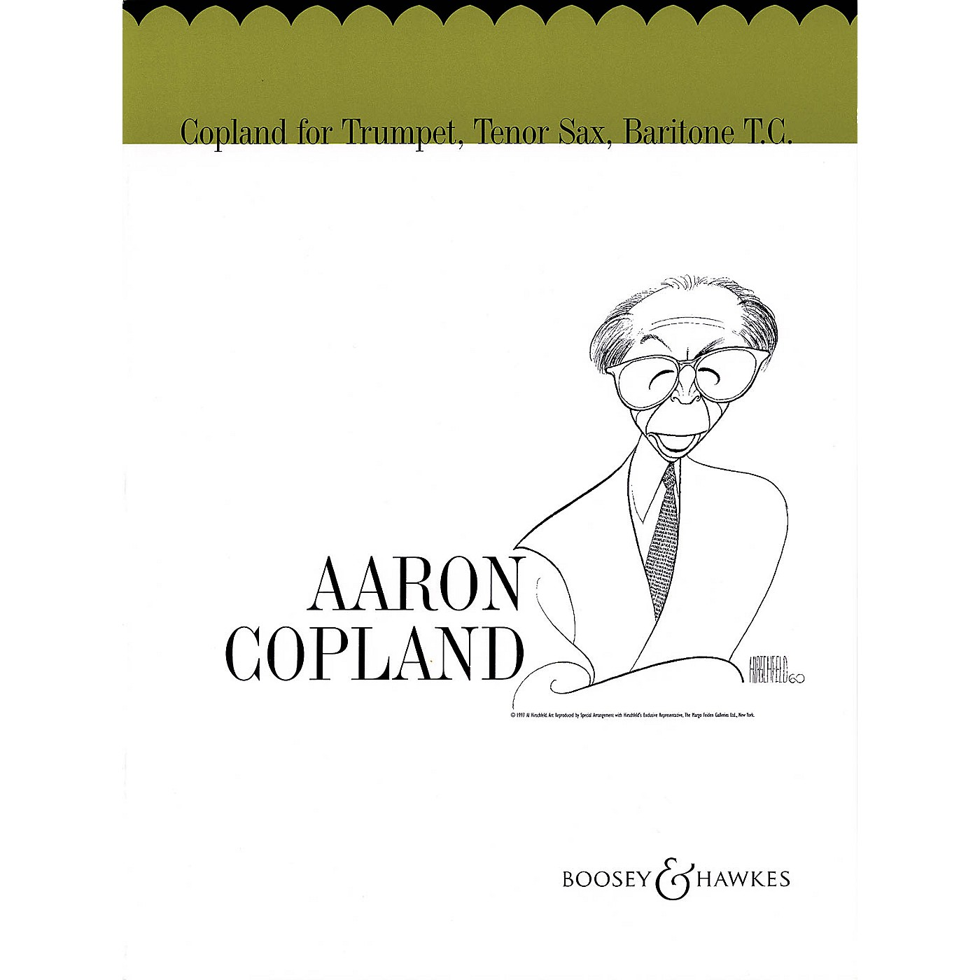 Boosey and Hawkes Copland for Trumpet, Tenor Sax, Baritone T.C. Boosey & Hawkes Chamber Music Book by Aaron Copland thumbnail