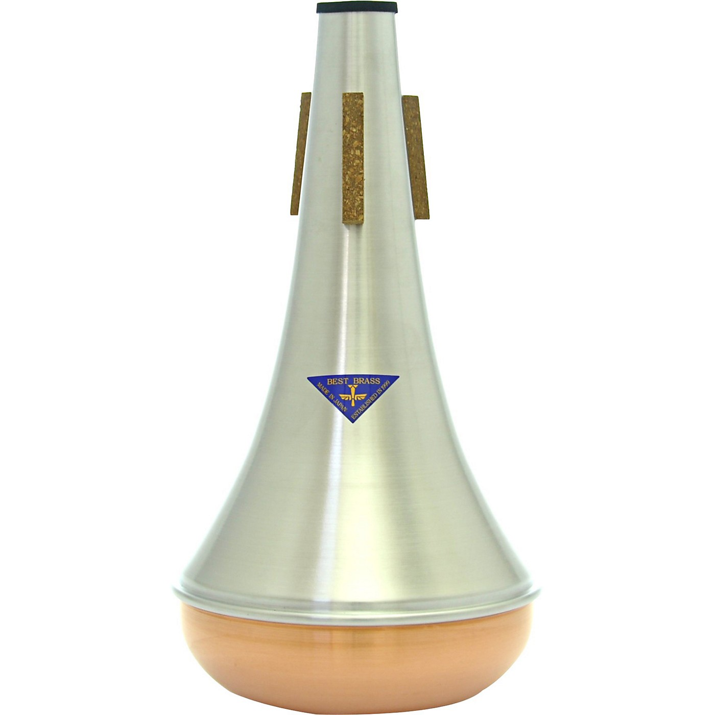 Best Brass Copper Bottom Bass Trombone Straight Mute thumbnail