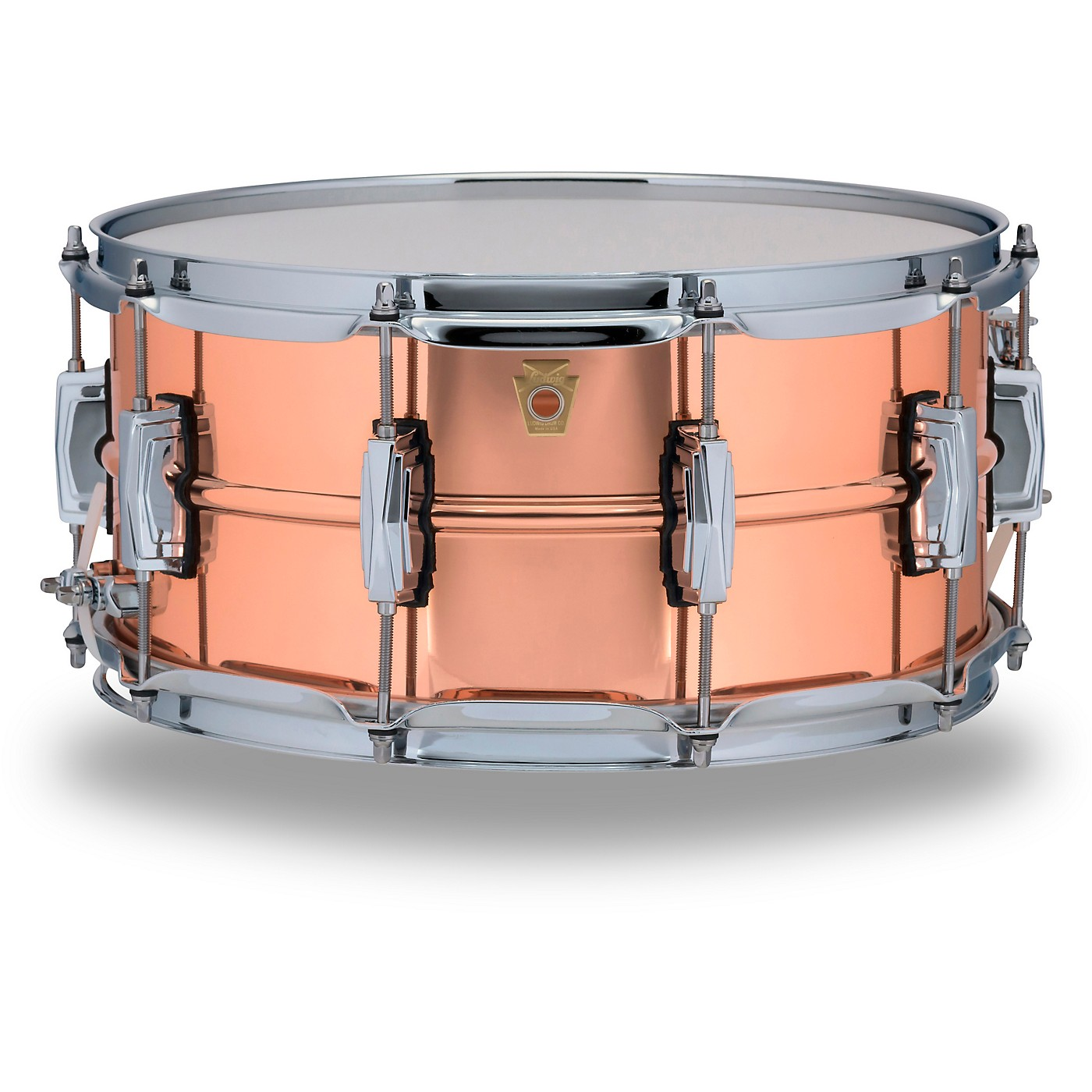 Ludwig Copper Phonic Smooth Snare Drum thumbnail