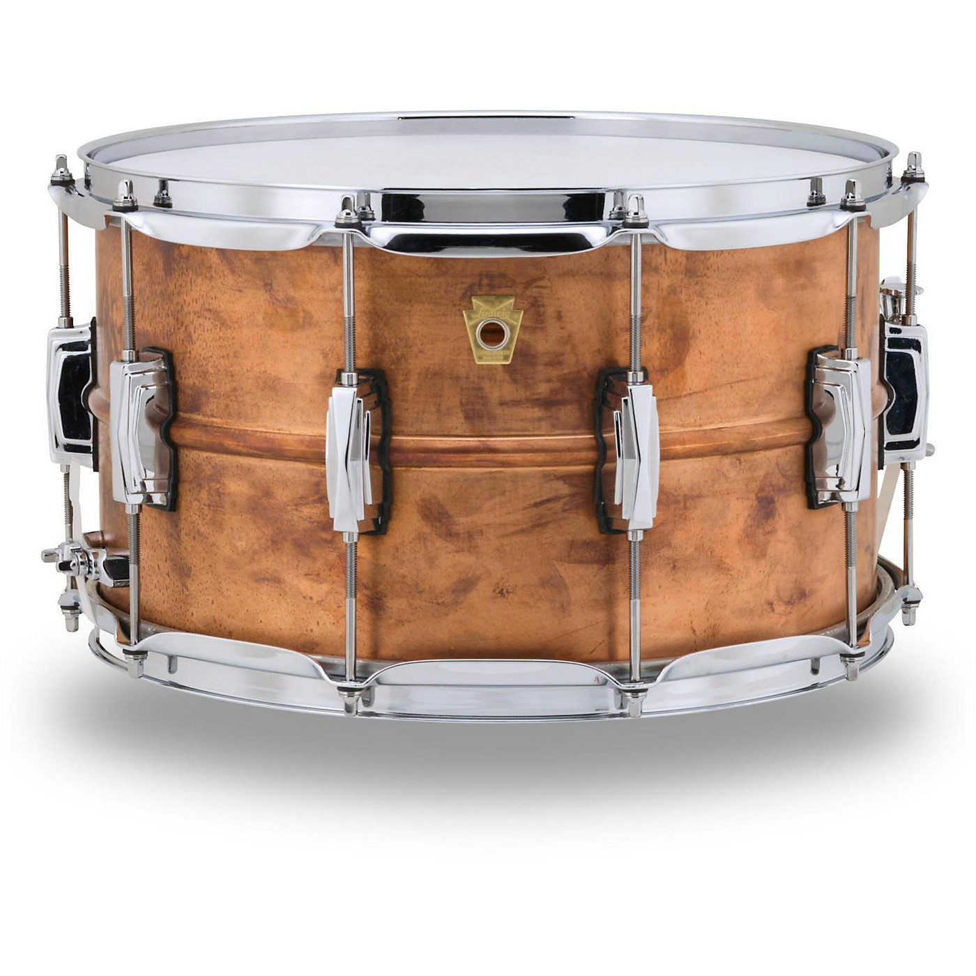 Ludwig Copper Phonic Snare Drum, 14 x8 in. thumbnail