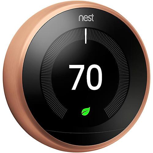 Nest Copper Thermostat thumbnail