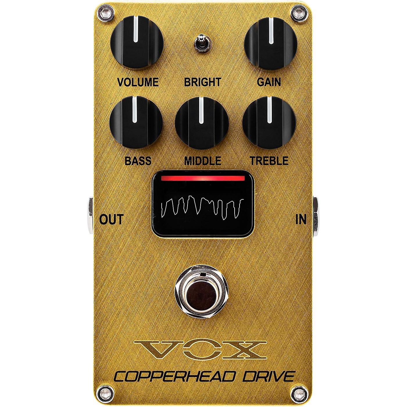 Vox Copperhead Drive - Valve Distortion Pedal thumbnail