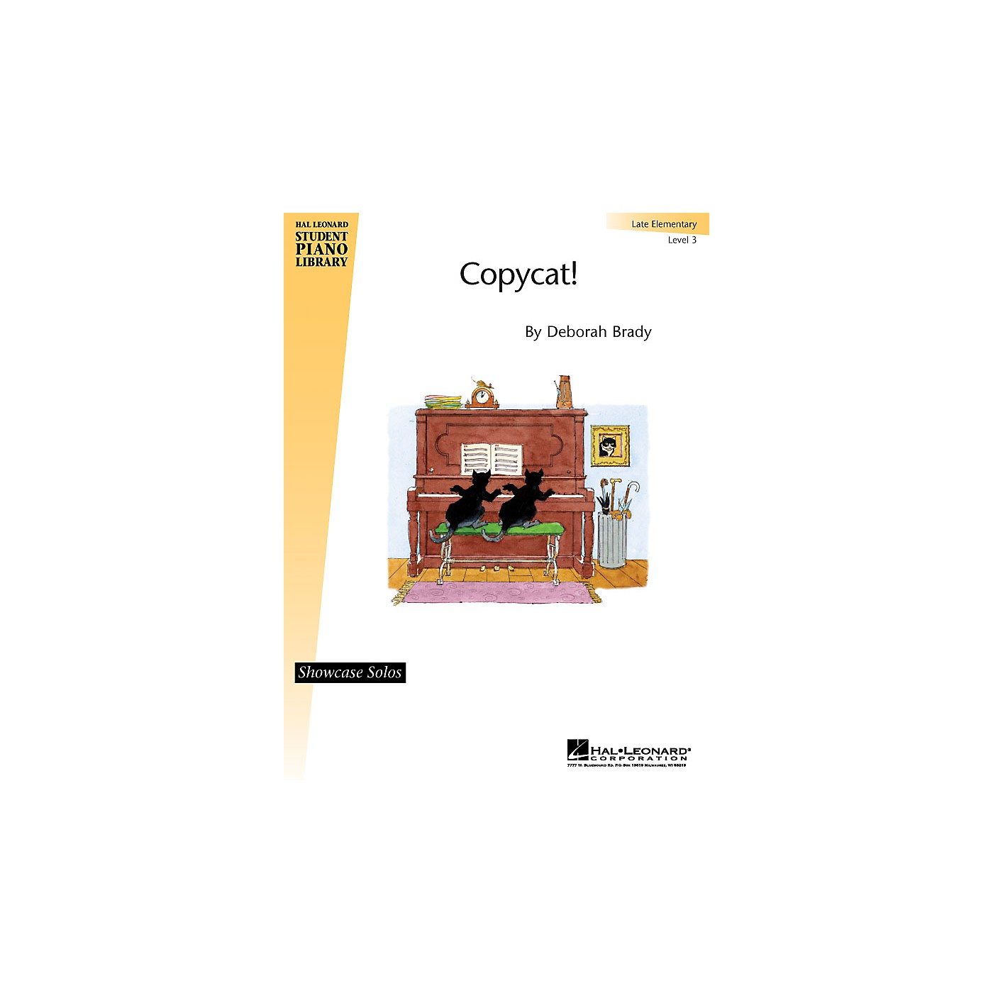 Hal Leonard Copycat! Piano Library Series by Deborah Brady (Level Late Elem) thumbnail