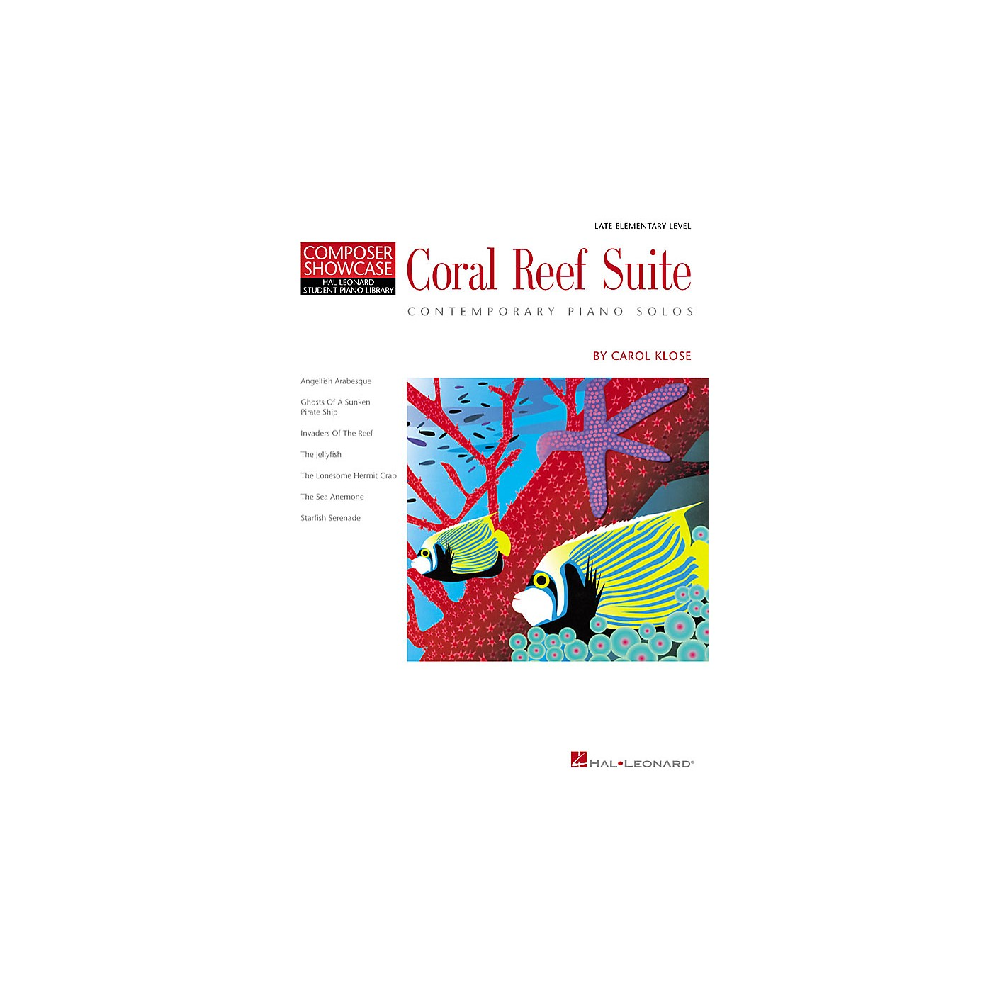 Hal Leonard Coral Reef Suite Piano Library Series by Carol Klose (Level Late Elem) thumbnail