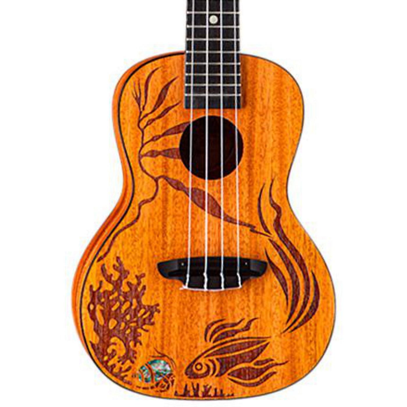 Luna Guitars Coral Solid Mahogany Concert Ukulele thumbnail