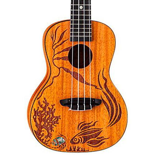 Luna Guitars Coral Solid Mahogany Concert Ukulele-thumbnail