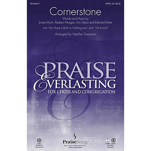 PraiseSong Cornerstone CHOIRTRAX CD by Hillsong Arranged by Heather Sorenson thumbnail