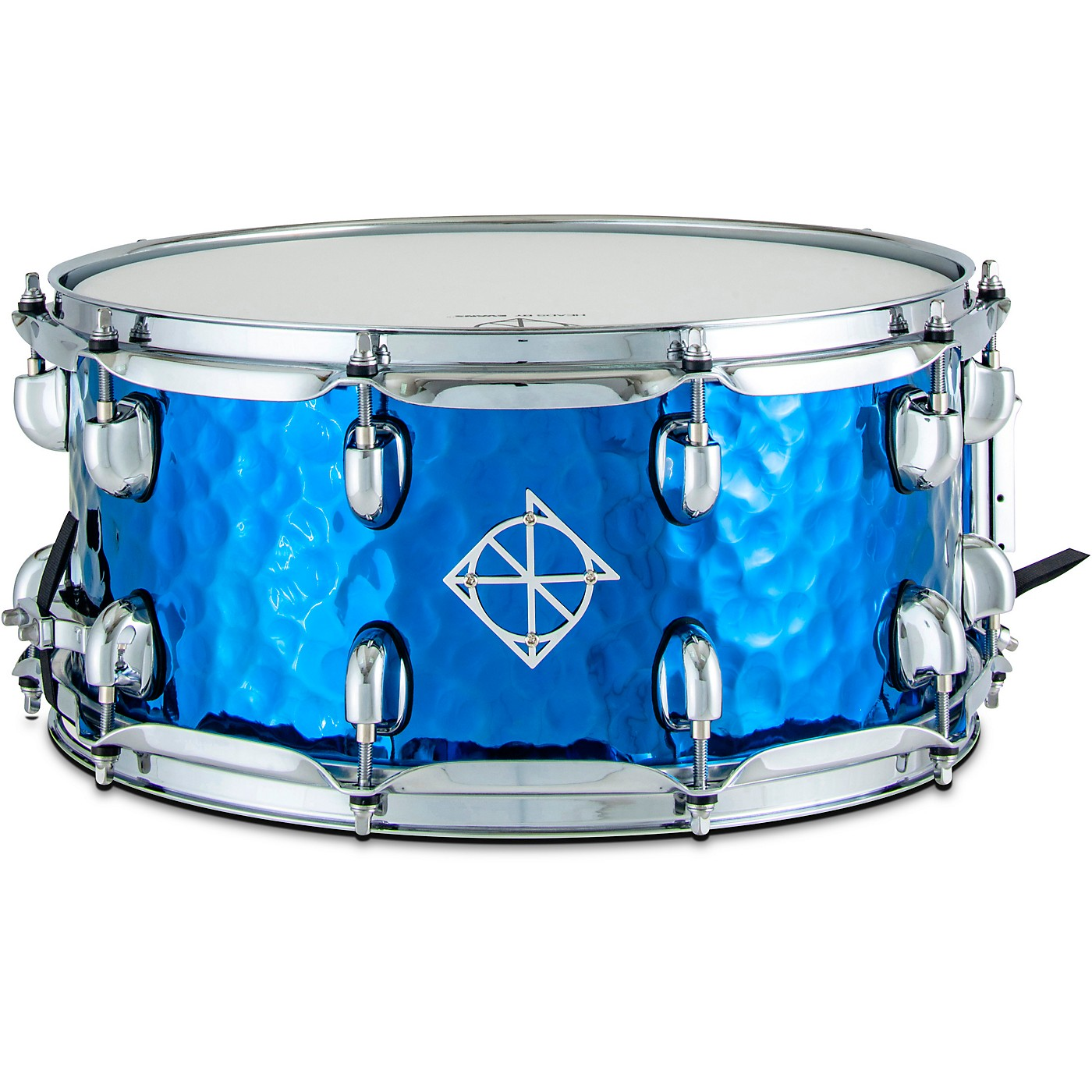 Dixon Cornerstone Titanium Plated Hammered Steel Snare Drum With Bag thumbnail
