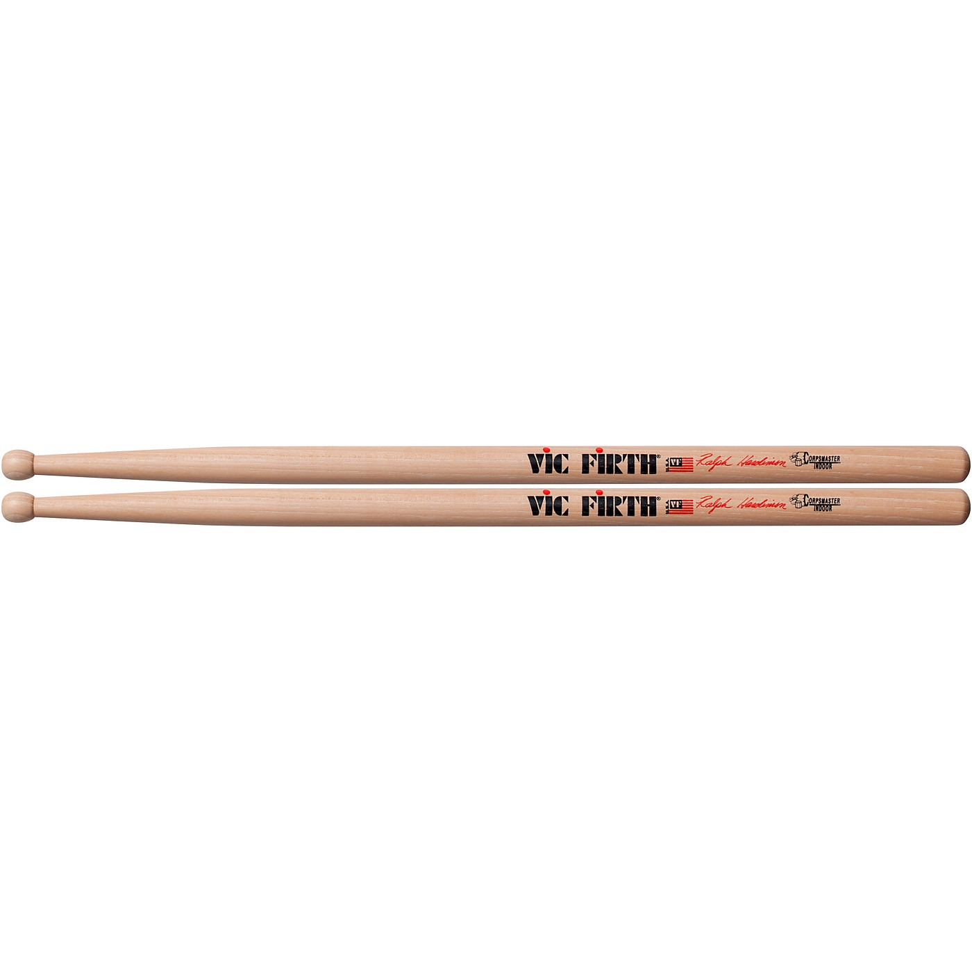 Vic Firth Corpsmaster Ralph Hardimon Indoor Marching Stick thumbnail