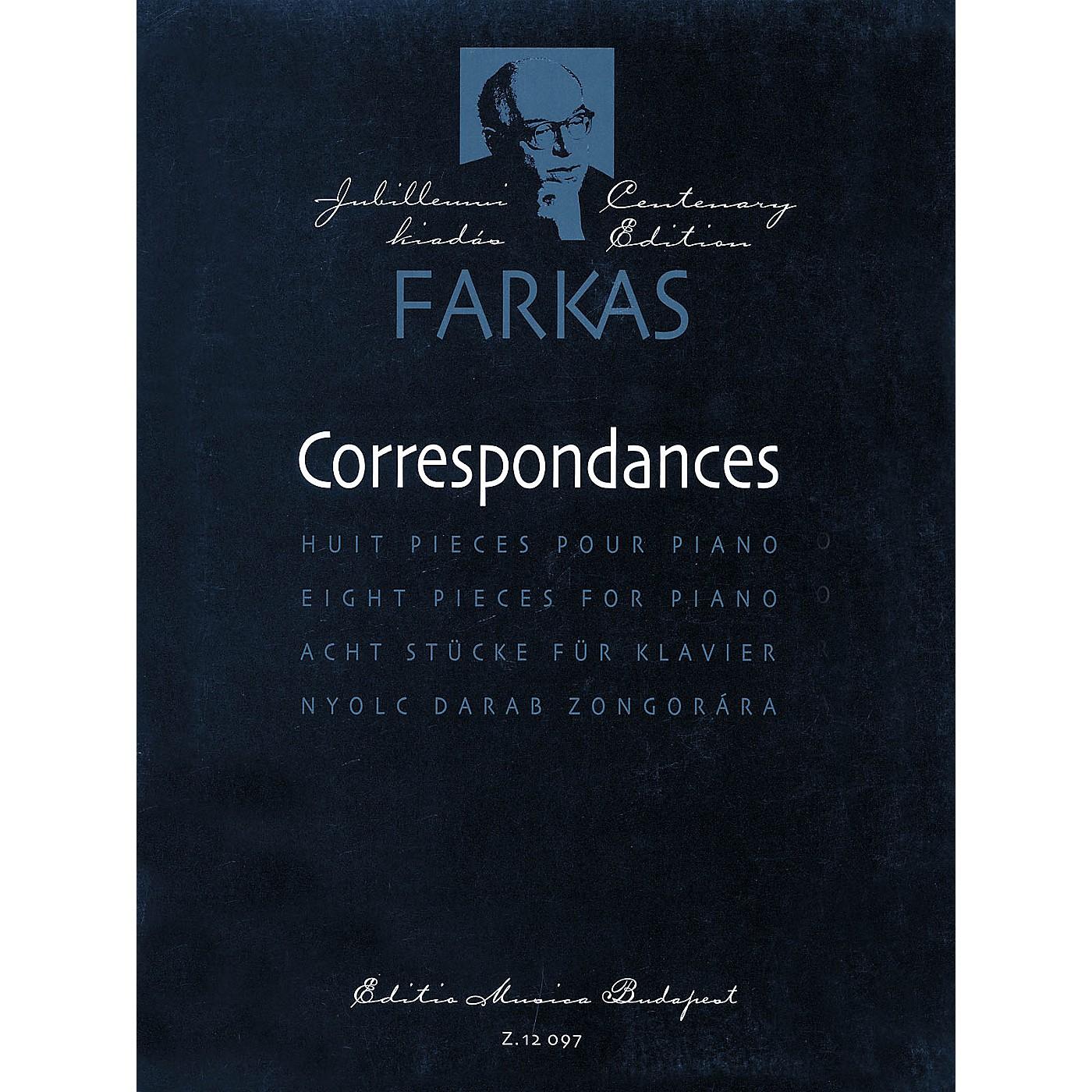 Editio Musica Budapest Correspondances (8 Pieces for Piano Solo) EMB Series thumbnail