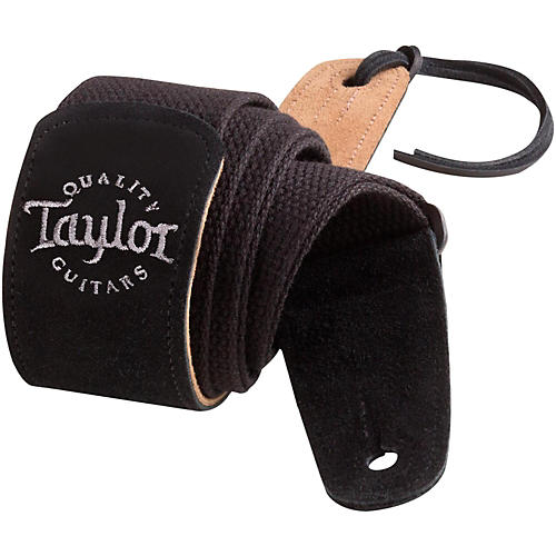Taylor Cotton Guitar Strap with Suede Ends thumbnail