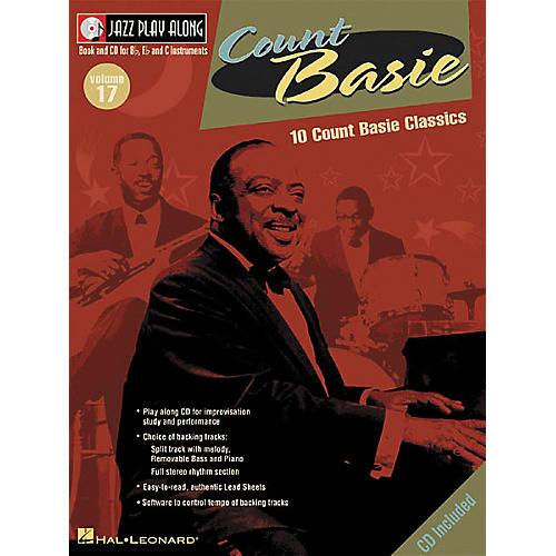 Hal Leonard Count Basie - Jazz Play Along, Volume 17 (Book/CD) thumbnail
