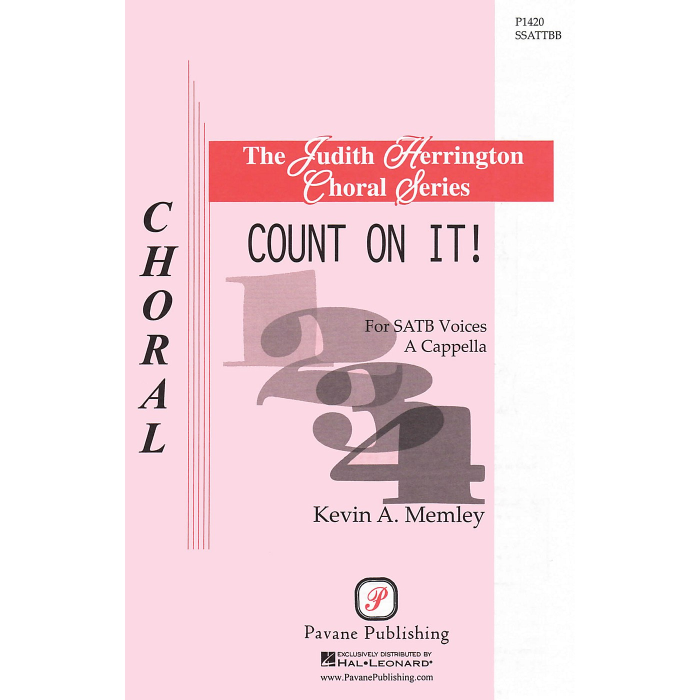 Pavane Count on It! SATB DV A Cappella composed by Kevin A. Memley thumbnail
