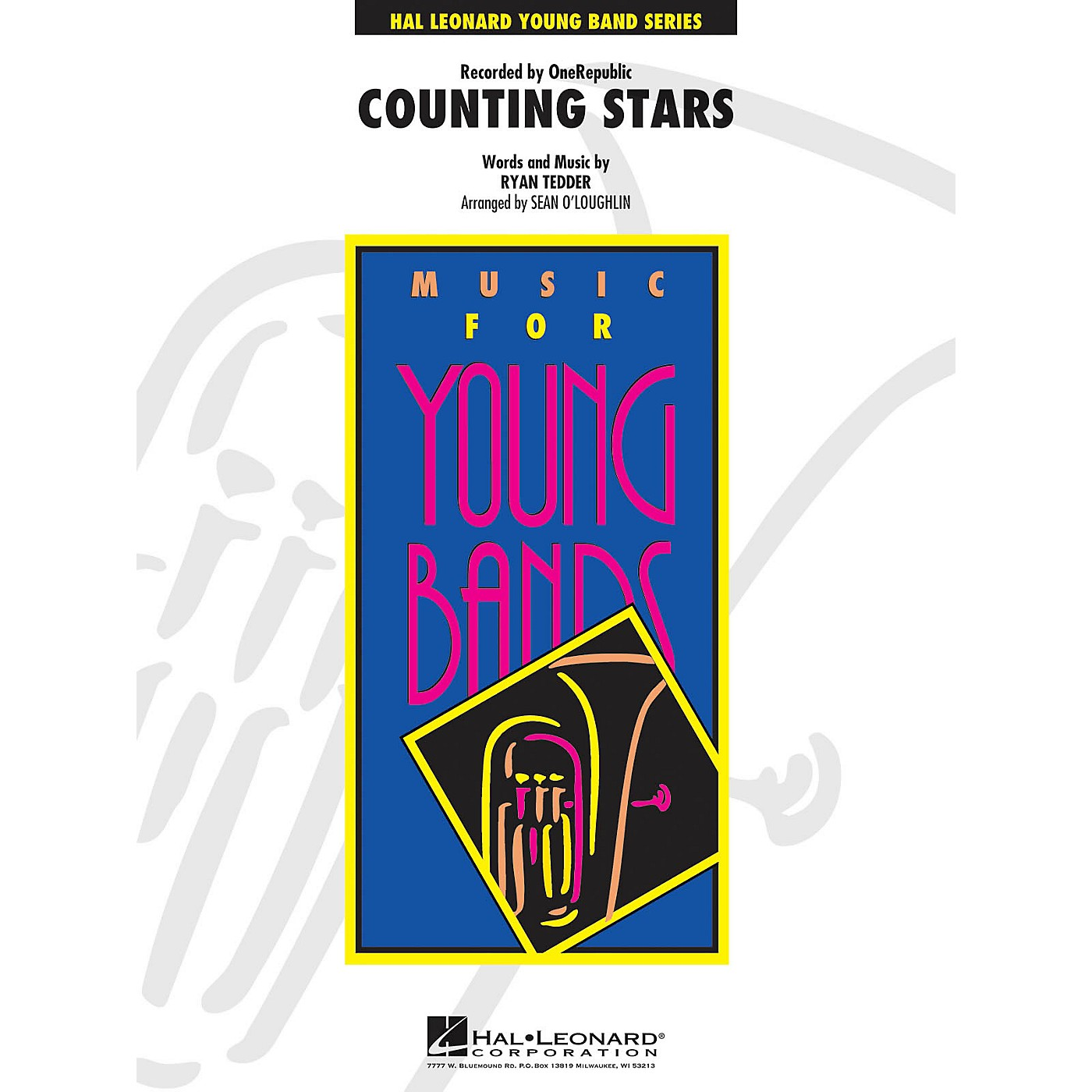 Hal Leonard Counting Stars - Young Concert Band Series Level 3 arranged by Sean O'Loughlin thumbnail
