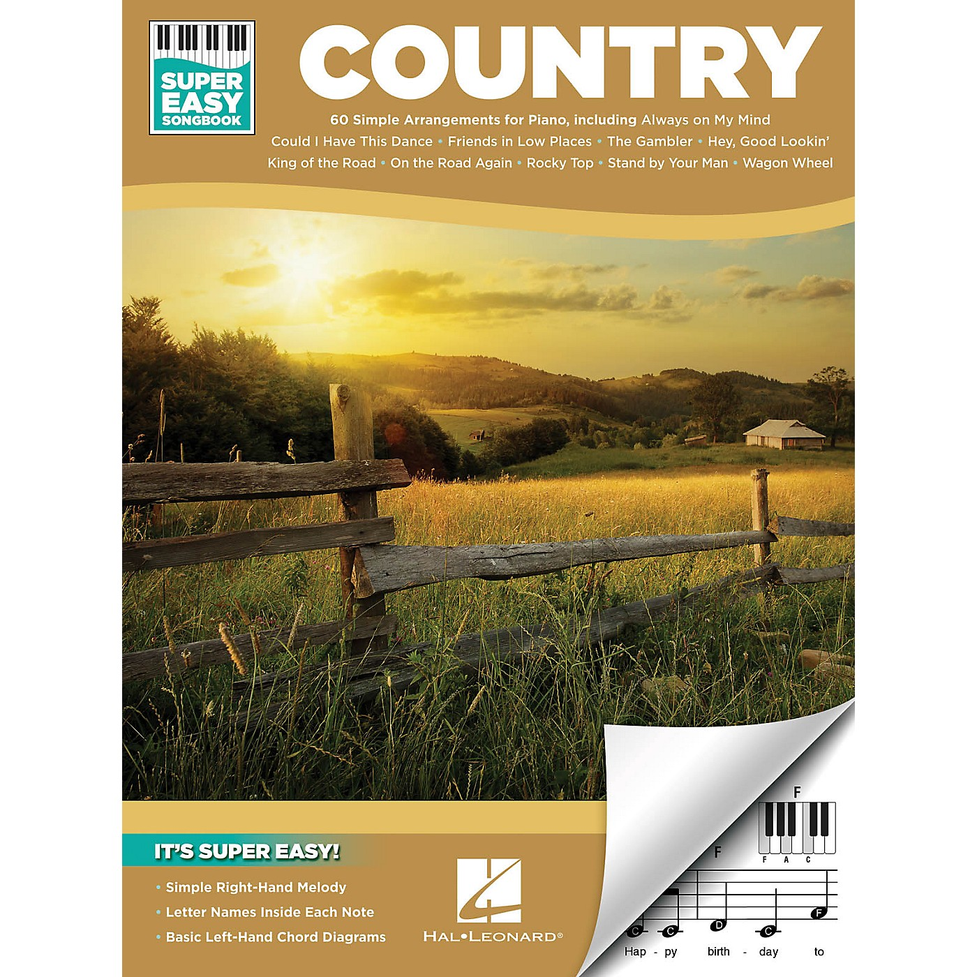 Hal Leonard Country - Super Easy Songbook thumbnail