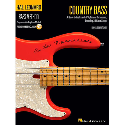 Hal Leonard Country Bass - Hal Leonard Bass Method Supplement To Any Bass Method Book/CD-thumbnail