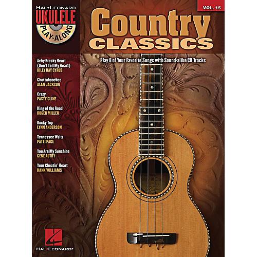 Hal Leonard Country Classics Ukulele Play-Along Volume 15 Book/CD thumbnail
