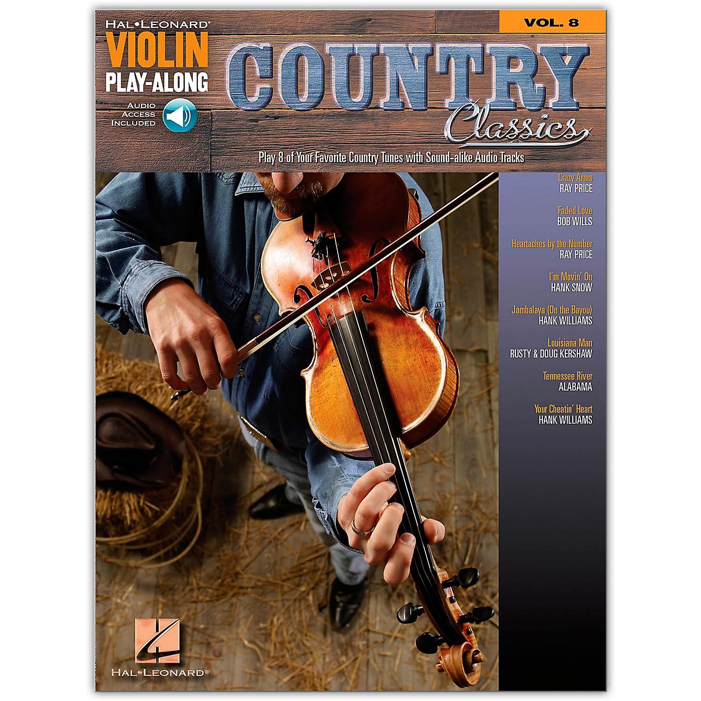 Hal Leonard Country Classics Violin Play-Along Volume 8 Book/Online Audio thumbnail