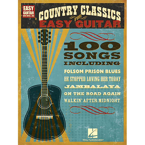 Hal Leonard Country Classics for Easy Guitar (with Tab)-thumbnail