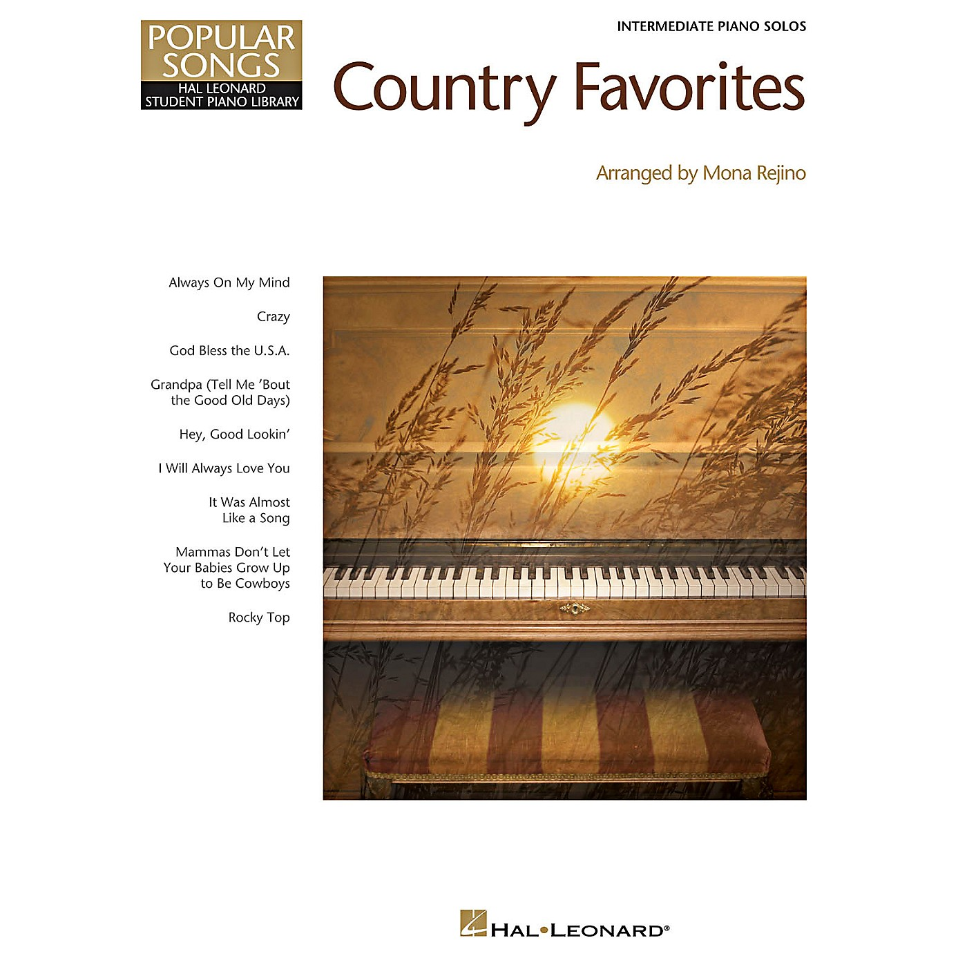 Hal Leonard Country Favorites - Hal Leonard Student Piano Library Popular Songs Series for Intermediate Level Piano thumbnail