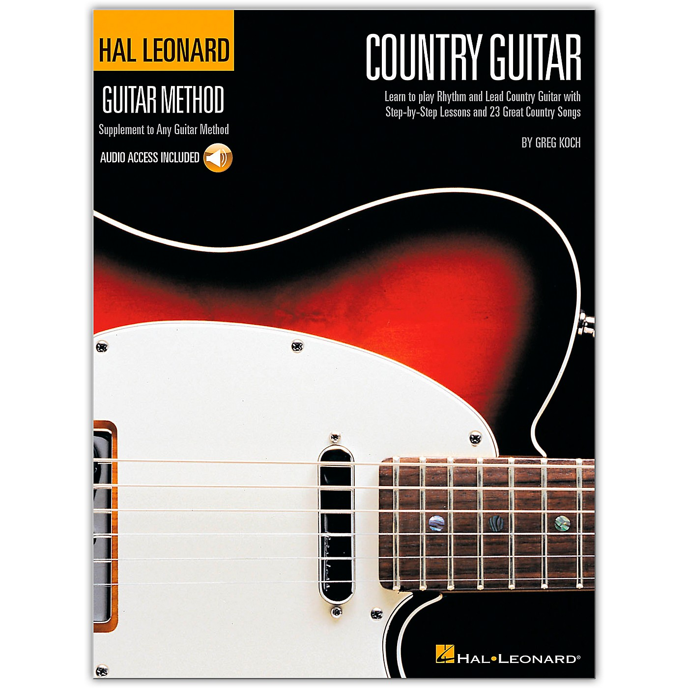 Hal Leonard Country Guitar Method (Book/Online Audio) thumbnail