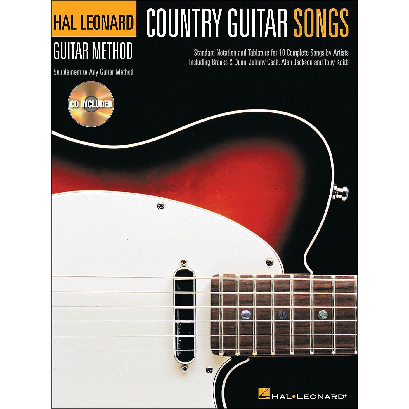 Hal Leonard Country Guitar Songs - Hal Leonard Guitar Method Supplement (Book/CD) thumbnail