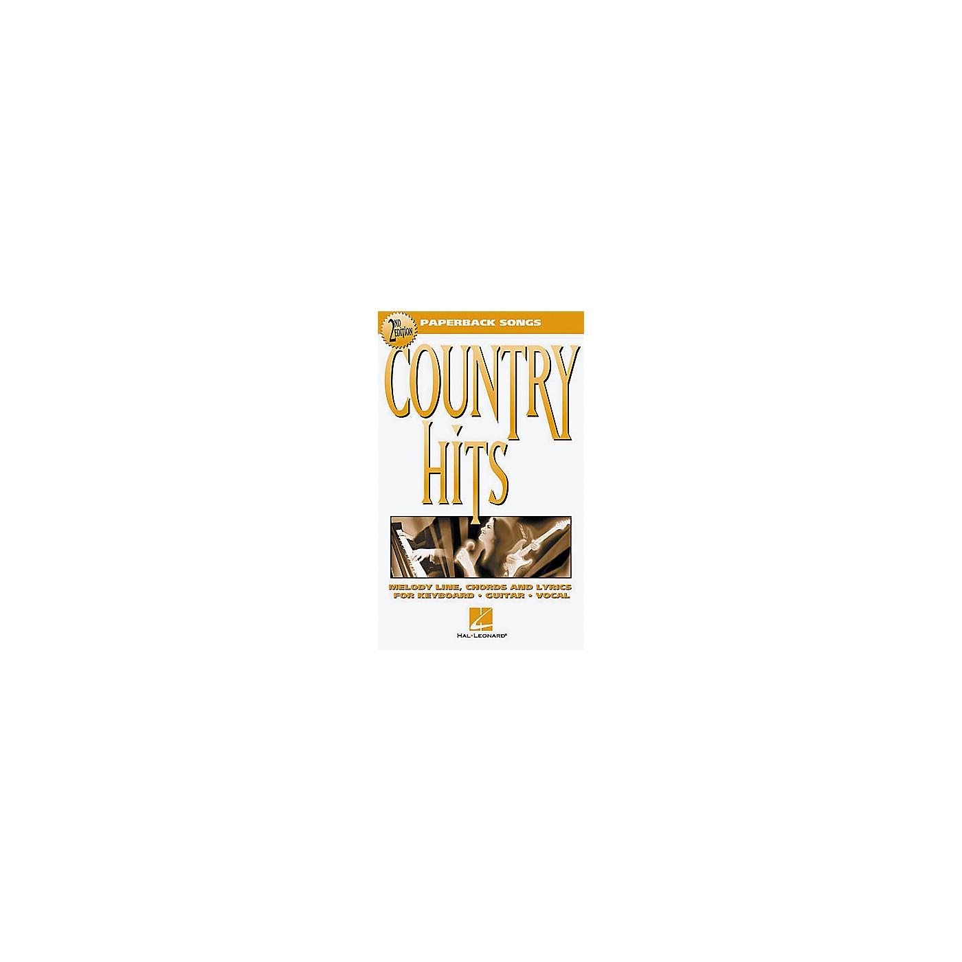 Hal Leonard Country Hits - 2nd Edition Book thumbnail