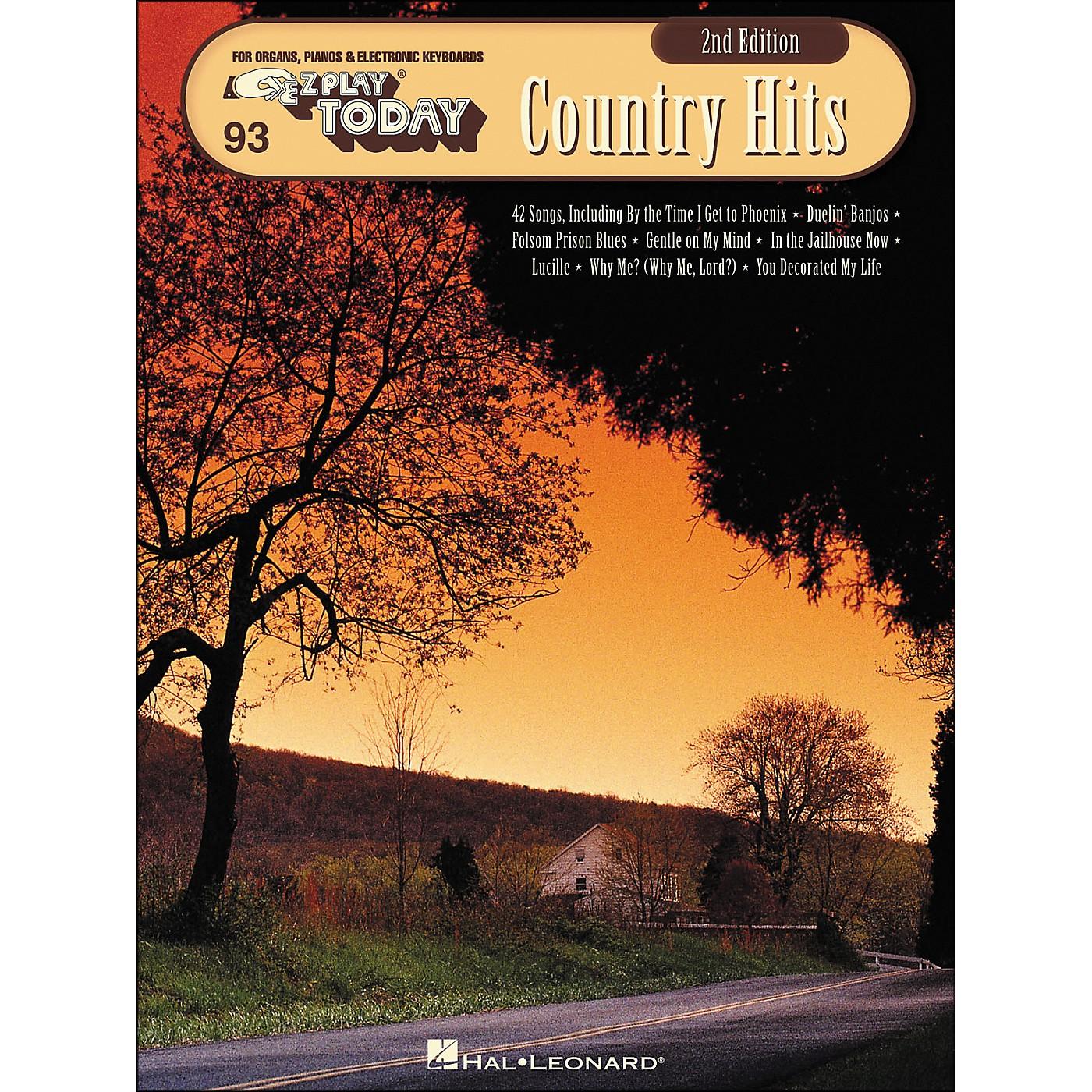 Hal Leonard Country Hits 2nd Edition E-Z Play 93 thumbnail