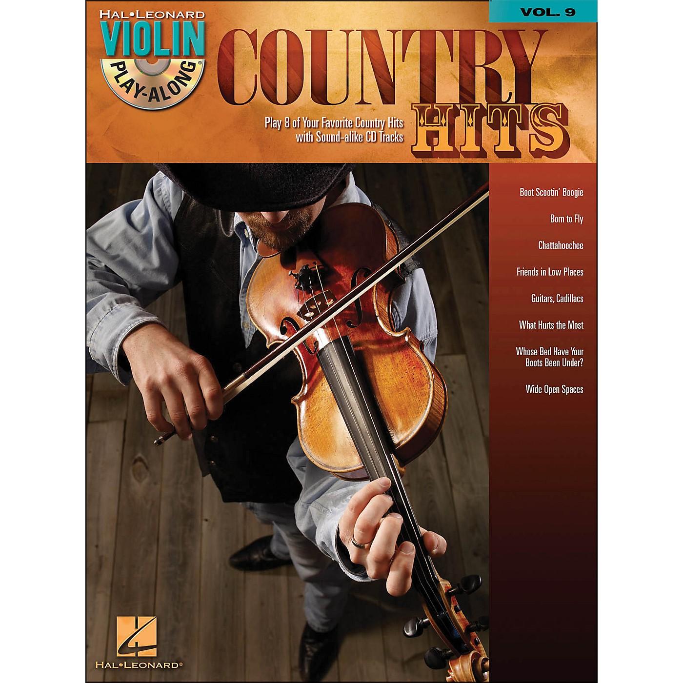 Hal Leonard Country Hits Violin Play-Along Volume 9 (Book/CD) thumbnail