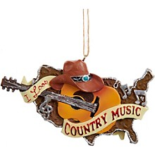 Kurt S. Adler Country Music Guitar Ornament