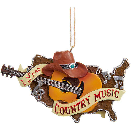 Kurt S. Adler Country Music Guitar Ornament thumbnail