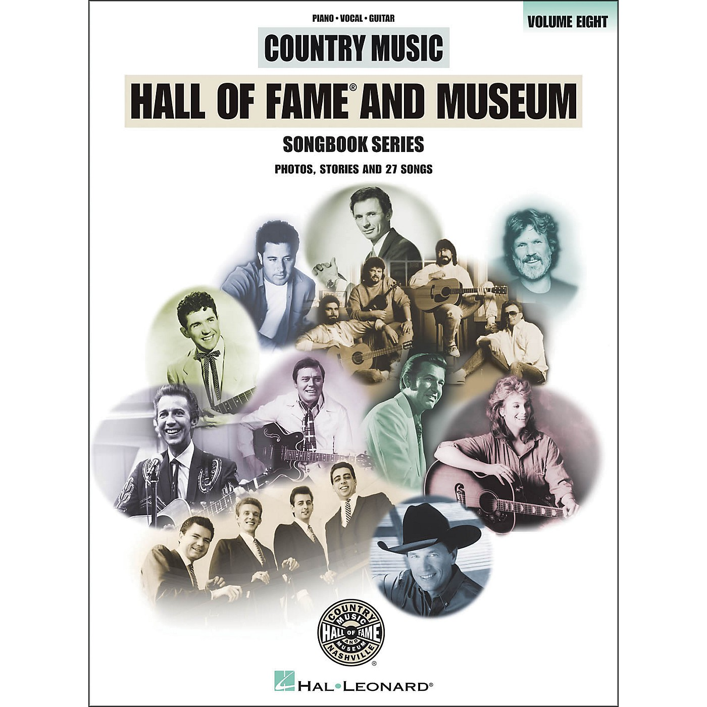 Hal Leonard Country Music Hall Of Fame And Museum - Volume 8 arranged for piano, vocal, and guitar (P/V/G) thumbnail