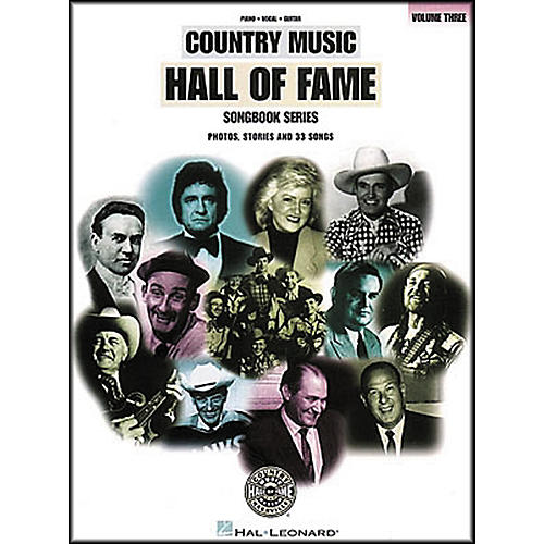 Hal Leonard Country Music Hall Of Fame Volume 3 Piano, Vocal, Guitar Songbook thumbnail
