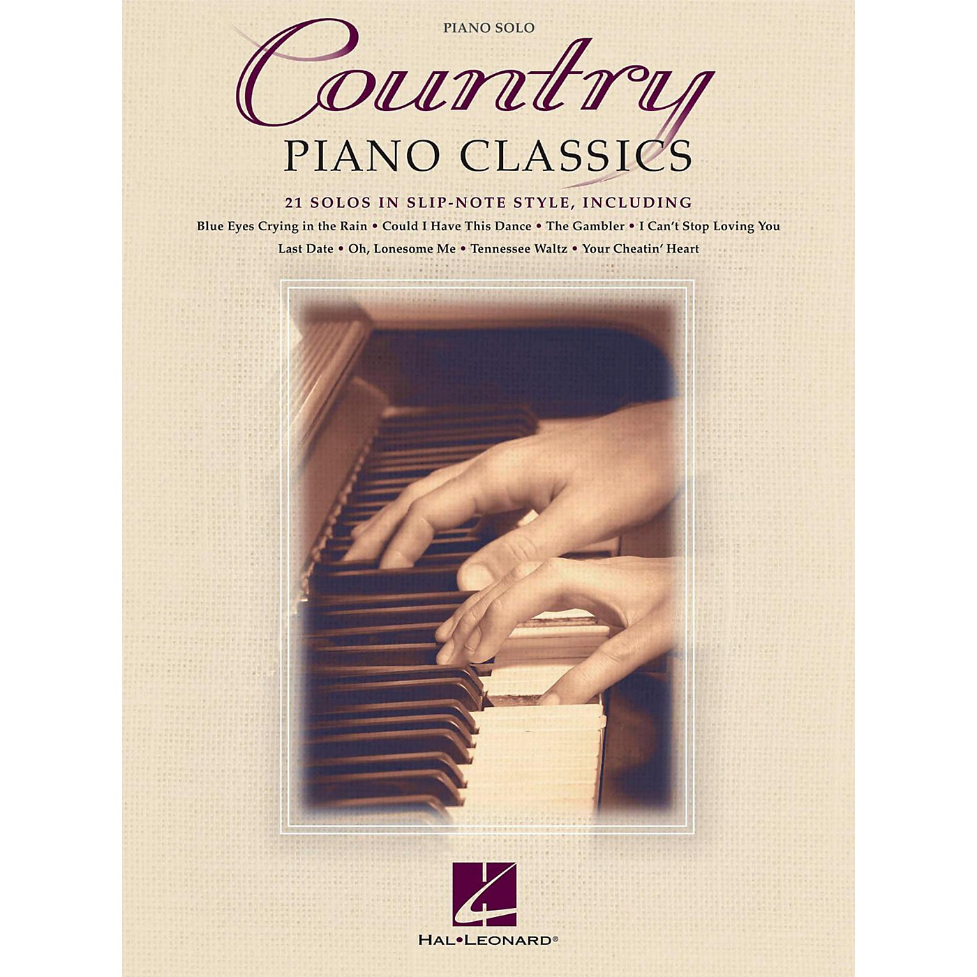Hal Leonard Country Piano Classics - 21 Solos in Slip-Note Style thumbnail