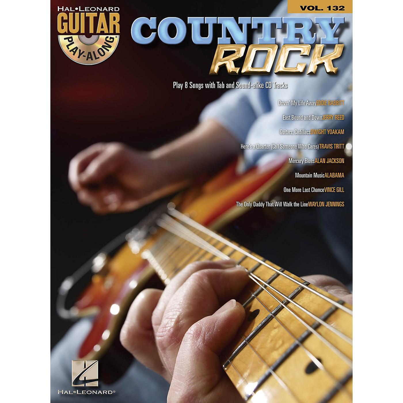 Hal Leonard Country Rock - Guitar Play-Along Volume 132 Book/CD thumbnail