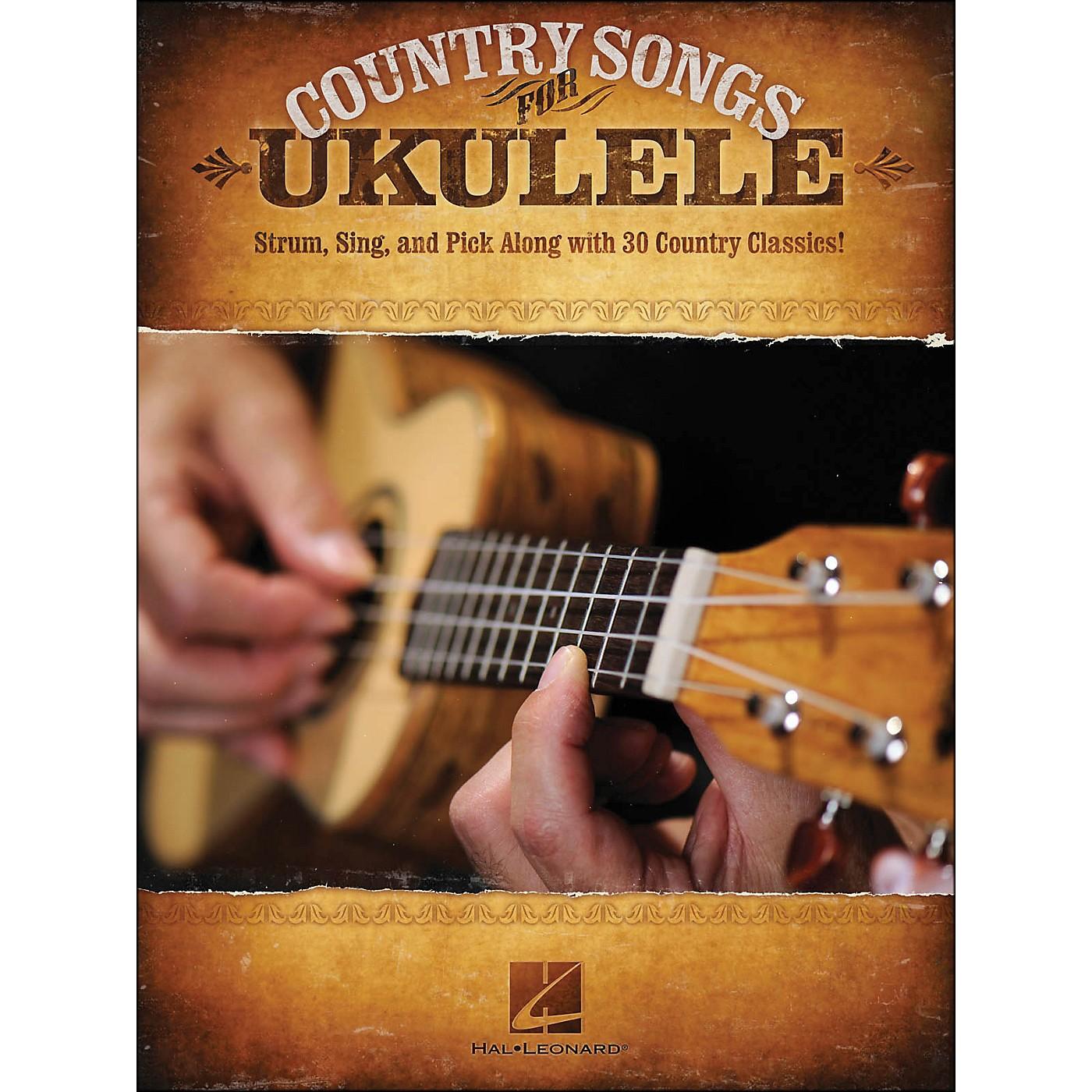 Hal Leonard Country Songs for Ukulele thumbnail