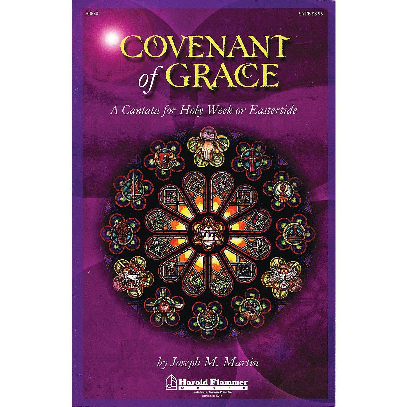 Shawnee Press Covenant of Grace (A Cantata for Holy Week or Easter Orchestration) Score & Parts by Joseph Martin thumbnail