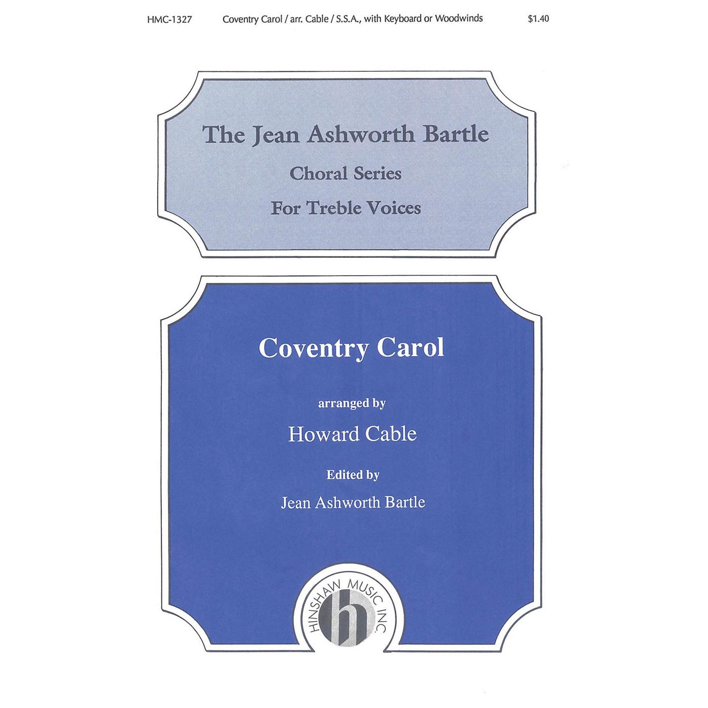 Hinshaw Music Coventry Carol SSA arranged by Howard Cable thumbnail