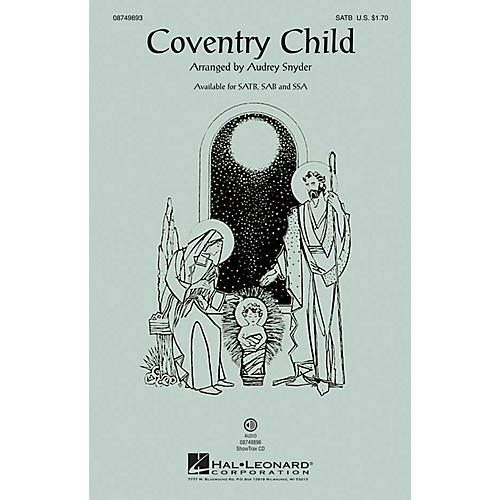 Hal Leonard Coventry Child SAB Arranged by Audrey Snyder thumbnail