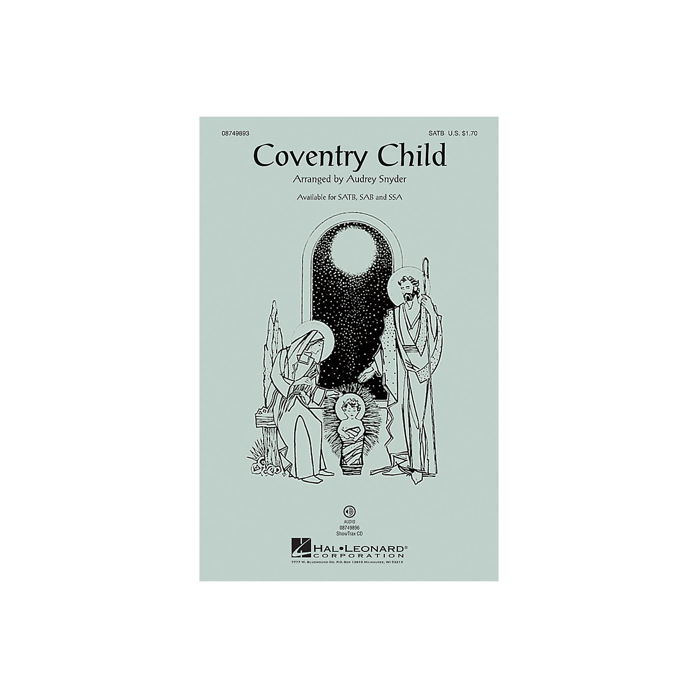 Hal Leonard Coventry Child ShowTrax CD Arranged by Audrey Snyder thumbnail