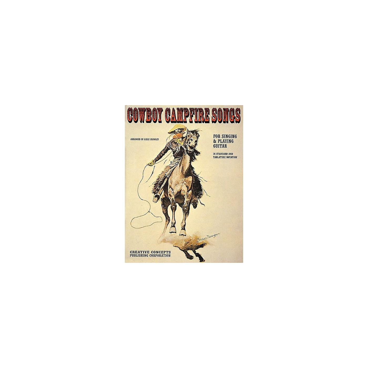 Creative Concepts Cowboy Campfire Songs (Songbook) thumbnail